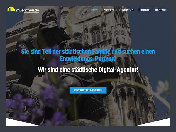 Portfolio Portal München Webservices